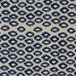 Mesa 4011-02 Indigo Woodblock by Alexia Abegg for Cotton + Steel