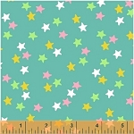 Ahoy Matey! 40156-4 Aqua Stars by Whistler Studios for Windham