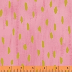 Sunshine Serenade 40230M-2 Pink Flamingo Dazzling Droplets by Windham