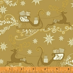 Glisten 40299M-1 Gold Metallic Reindeer by Windham