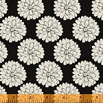 Jardin de Provence 40790-2 Black Mums by Daphne B for Windham