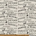 Jardin de Provence 40794-X Multi Words by Daphne B for Windham