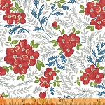 Hazel 40836-2 White Large Floral by Allison Harris for Windham