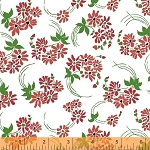 Hazel 40837-4 Red Flower Swirl by Allison Harris for Windham
