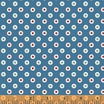 Hazel 40841-5 Blue Dot by Allison Harris for Windham