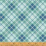 Hazel 40843-5 Blue Plaid by Allison Harris for Windham