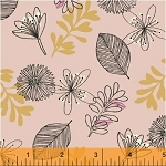 Whisper 41360-2 Blush Leaves & Flowers by Windham