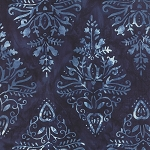 Cold Spell Batik 42225-122 Midnight Icicle by Laundry Basket for Moda