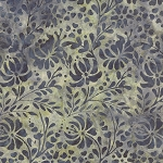 Cold Spell Batik 42225-47 Frost Flowers by Laundry Basket for Moda