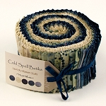 Cold Spell BATIKS Jelly Roll by Laundry Basket for Moda