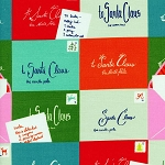 Tinsel 5012-1 Multi Notes to Santa by Cotton + Steel