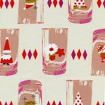 Tinsel 5013-2 Pink Cheers by Cotton + Steel