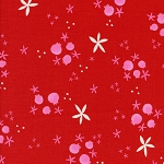 Tinsel 5017-2 Red Winter Pomegranates by Cotton + Steel