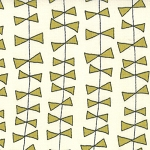 Lucy's Crab Shack 5481-13 Cream Green Kite Ties by Sweetwater for Moda