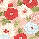 Bliss 55020-12 Red floral by Bonnie & Cmille for Moda EOB
