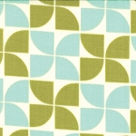 Marmalade 55053-14 Blueberry Leaf Pinwheel by Moda