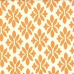 Marmalade 55056-13 Cream Tangerine Sugar by Bonnie & Camille for Moda