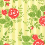 Happy Go Lucky 55060-15 Yellow Bloom by Bonnie & Camille for Moda EOB