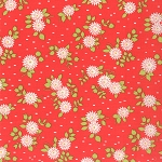 Happy Go Lucky 55063-11 Red Mum by Bonnie & Camille for Moda