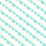 Happy Go Lucky 55064-22 White Aqua Jump by Bonnie & Camille for Moda EOB