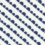 Happy Go Lucky 55064-27 White Navy Jump by Bonnie & Camille for Moda