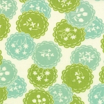 Scrumptious 55076-27 Aqua Lime Dainty by Bonnie & Camille for Moda