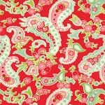 Scrumptious 55077-11 Red Paisley by Bonnie & Camille for Moda
