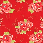 Miss Kate 55090-11 Red Blossom by Bonnie & Camille for Moda