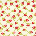Miss Kate 55097-14 White Apple Polka by Bonnie & Camille for Moda