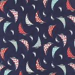 Daysail 55100-13 Navy Cape May by Bonnie & Camille for Moda