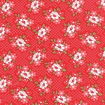 Daysail 55107-11 Red Blooms by Bonnie & Camille for Moda