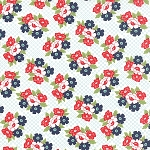 Daysail 55107-14 Creamy White Blooms by Bonnie & Camille for Moda