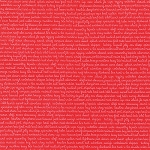 Daysail 55108-11 Red Tiny Script by Bonnie & Camille for Moda