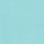 Daysail 55108-12 Aqua Tiny Script by Bonnie & Camille for Moda