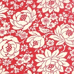Hello Darling 55110-11 Red Mum by Bonnie & Camille for Moda