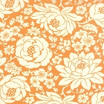 Hello Darling 55110-16 Orange Mum by Bonnie & Camille for Moda
