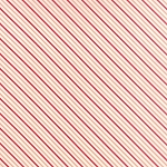 Hello Darling 55112-11 Coral Red Summer Stripe by Moda