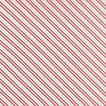 Hello Darling 55112-18 Aqua Red Summer Stripe by Moda