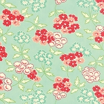 Hello Darling 55113-13 Aqua Picnic by Bonnie & Camille for Moda