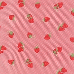 Hello Darling 55114-11 Red Strawberries by Bonnie & Camille for Moda