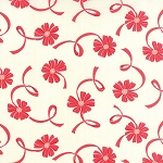 Hello Darling 55116-21 Cream Red Ribbon by Bonnie & Camille for Moda
