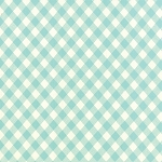Vintage Picnic 55124-12 Aqua Check by Bonnie & Camille for Moda