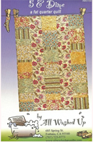 5 & Dime Fat Quarter Quilt Pattern by All Washed Up