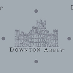 Downton Abbey 7317-C Grey Large Castle by Andover