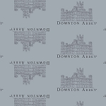 Downton Abbey 7618-C Grey Small Castle by Andover