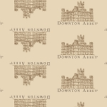 Downton Abbey 7618-N Beige Small Castle by Andover