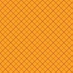 Not So Spooky 8312-35 Orange Bias Plaid by Holly Hill for Henry Glass