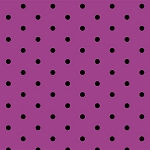 Not So Spooky 8313-55 Purple Dots by Holly Hill for Henry Glass