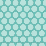 Sweet Harmony 9597-11 Aqua Tonal Dot by Henry Glass