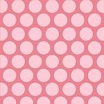 Sweet Harmony 9597-22 Pink Tonal Dot by Henry Glass EOB